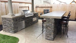 Concrete Countertops for Outdoor Kitchen Fire up The Grill in Style with a Countertop