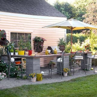 Diy Cinder Block Outdoor Kitchen How to Use Cement S in Practical Projects