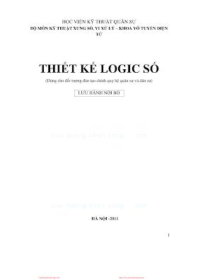 HVQS.Thiết Kế Logic Số - Nhiều Tác Giả, 416 Trang.pdf