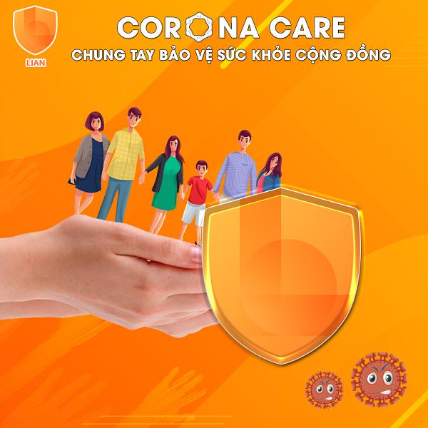 Ứng dụng LIAN chính thức ra mắt sản phẩm bảo hiểm Corona Care - Chung tay bảo vệ sức khoẻ cộng đồng