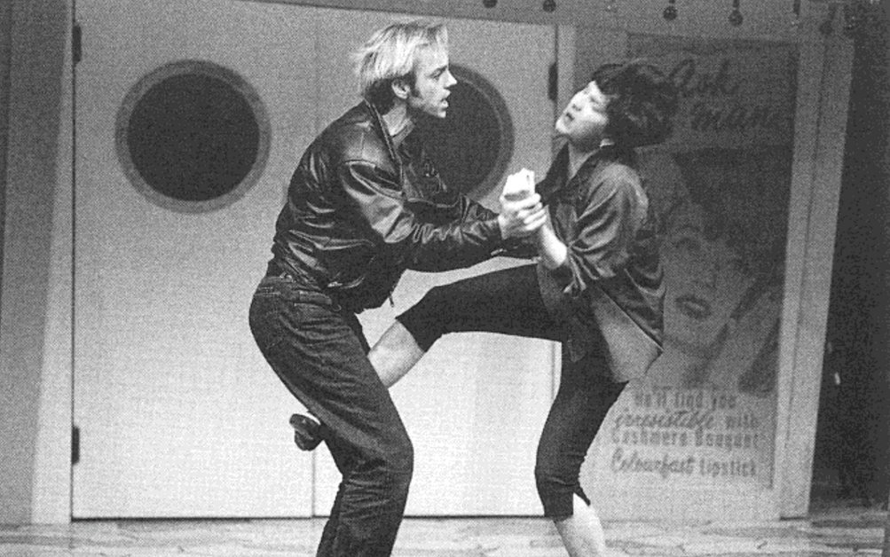 Pamela Rabe in The Taming of the Shrew