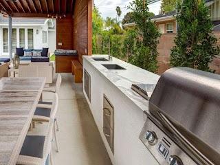 Outdoor Kitchen Countertops Ideas 13 Countertop Options Hgtv