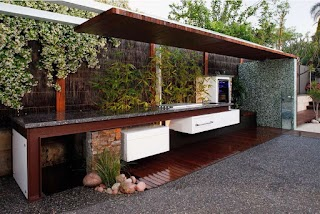 Modern Outdoor Kitchen Ideas Cabinets Freephotoprinting Home
