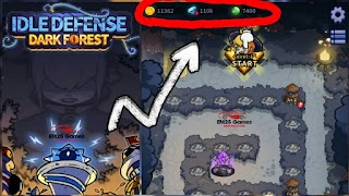 Idle Defence: Dark Forest Mod Apk 1.1.23 [Unlimited Money]