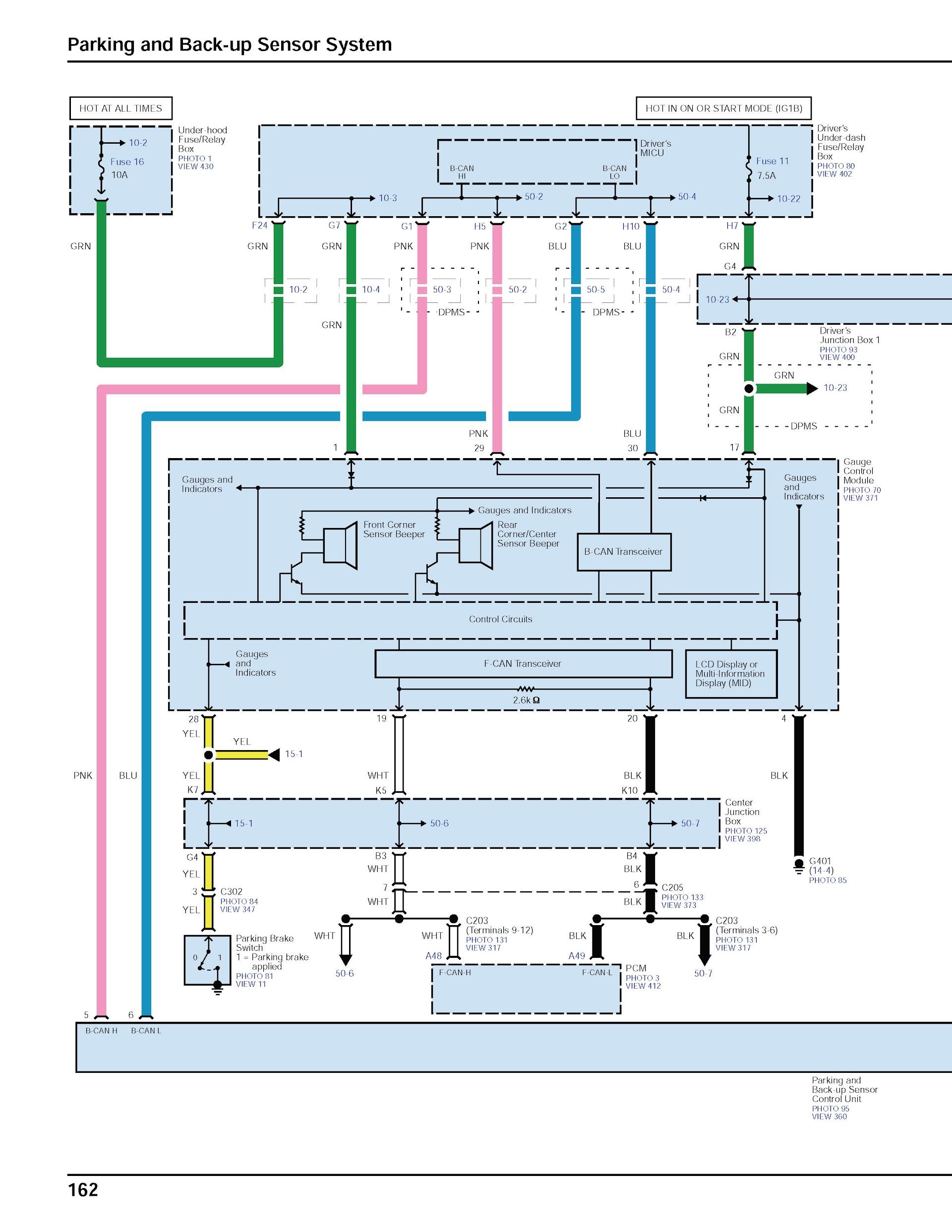 Download 2014-2016 Honda Odyssey Wiring Diagrams