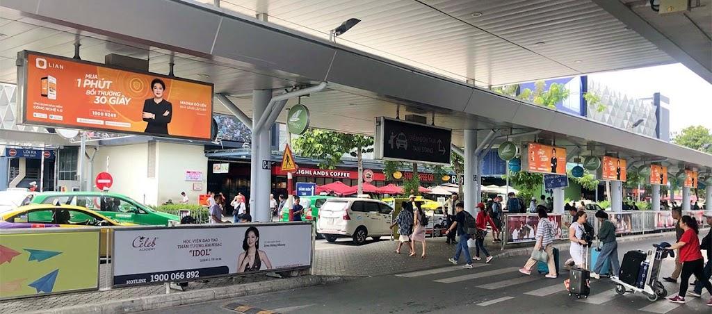 LIAN đã có mặt tại hệ thống bảng biển quảng cáo nhà ga Sân bay Tân Sơn Nhất