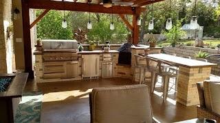 Austin Outdoor Kitchens Decks Pergolas Covered Patios