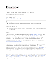 Committee on Committees and Rules