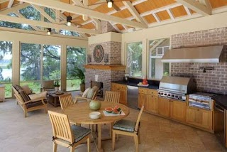 Enclosed Outdoor Kitchens Design Trends for Custom Iowa New Homes