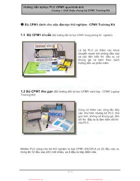 Hướng Dẫn Tự Học PLC CMM1 Qua Hình Ảnh - Tn.Bình, T.Dũng, 46 Trang.pdf