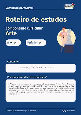 ELEMENTOS CONSTITUTIVOS DO TEATRO