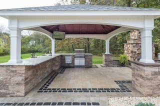 Pergola Outdoor Kitchen Amazing Designs Country Lane Gazebos