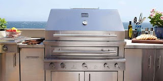 Stainless Steel Outdoor Bbq Kitchen Marinegrade Kalamazoo Gourmet