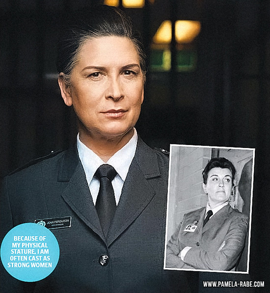 Pamela Rabe | Freaking out over evil role