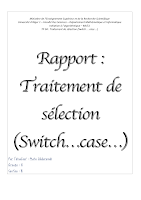 RAPPORT 3 Traitement de sélection Switch case MI Alger.pdf