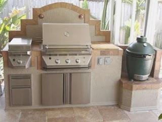 Outdoor Kitchen Deep Fryer Built In