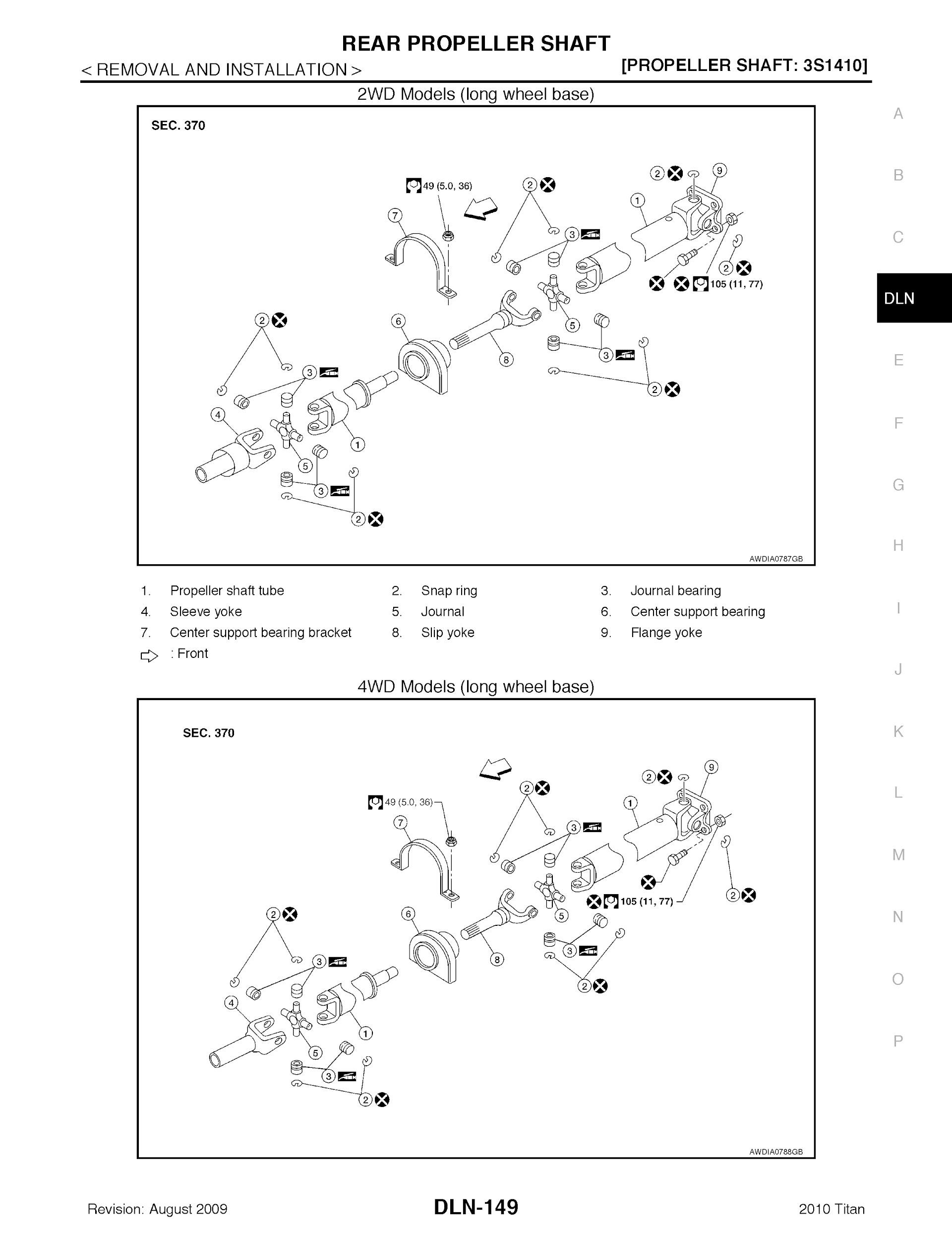 Download 2010 Nissan Titan Repair Manual.