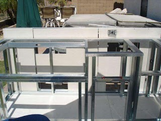 Steel Stud Outdoor Kitchen How to Build an with Metal S Jowilfried Tsonga