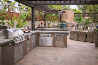 Cheap Outdoor Bbq Kitchens Stucco Finish Islands Gallery Western