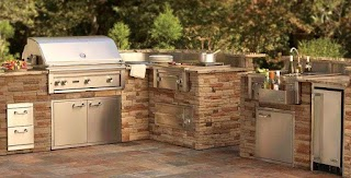 Lynx Outdoor Kitchen Home Professional Grills Sedona By Smartgrill