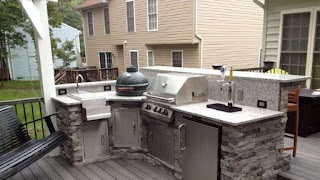 Building Outdoor Kitchen Cabinets DIY Is This a Project for You Angie39s List Arched