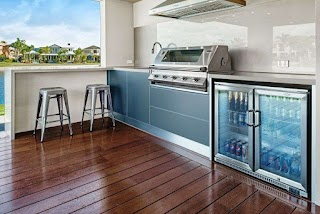 Outdoor Kitchens Melbourne Bbq Amp Built Designs Patio Smoker