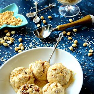 Sesame & Jaggery No-Churn Ice Cream