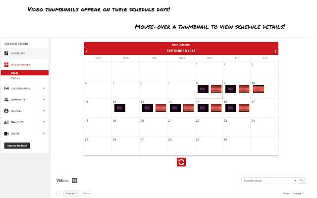 Creator Calendar