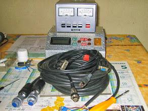Photo: Voilà la connecticte PC/Interface et interface/boitier rotors est faites maintenant la preuve par neuf aux essais dans qq jours
