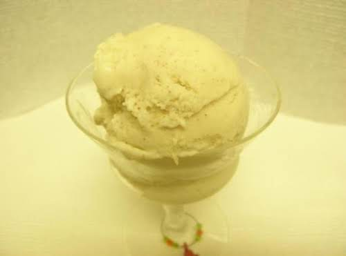 "Pineapple and Rum Ice Cream ""This is my own version of pineapple..."