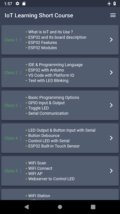 IoT Learning Short Course : ESP32, Arduino,Project