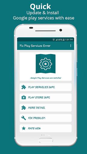 Fix Play Store & Google Play Services Error Info 1.0.6 screenshots 1