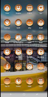 Daf Orange Icon Pack - náhled