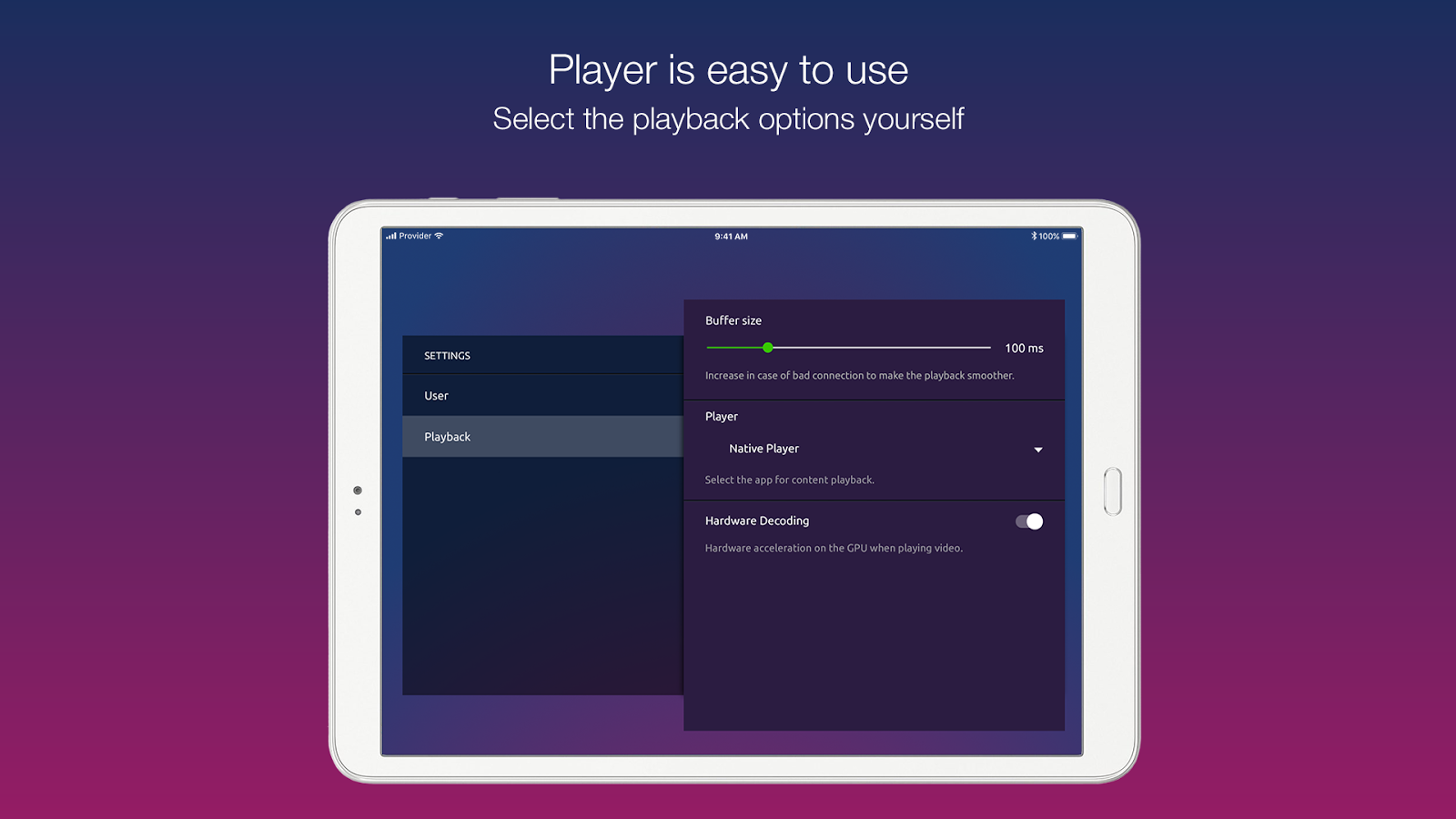ministra player apk