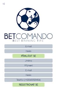 BET COMANDO - náhled