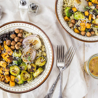 Roasted Winter Harvest Buddha Bowls