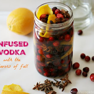 Fall Flavored Infused Vodka (low carb)