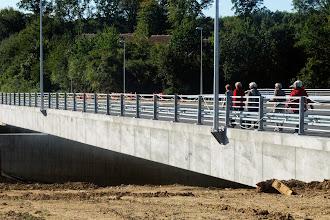 Photo: Ny bro over den kommende motorvej, Kejlstrupvej, Silkeborg