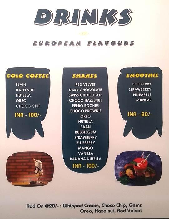 European Bite Zirakpur menu 5
