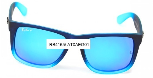 ray ban justin lente colorida
