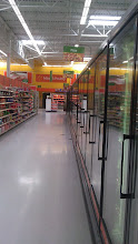 Photo: I headed to the pizza and Ice cream section to pick up a few essentials for the weekend. Love it when the aisle is all mine.