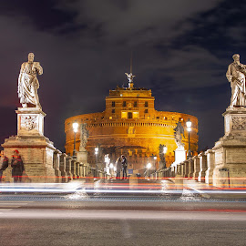 Castel Sant 'Angelo in Rome by Rob Deakin Photography - Buildings & Architecture Public & Historical ( rome, castel sant angelo, castle, mausoleum, hadrian, italy )
