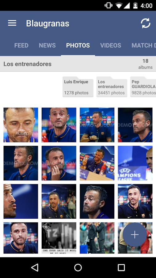 Blaugranas FC Barcelona Fans- screenshot