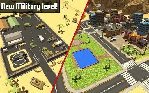 Pixel Block Survival Craft screenshot 1