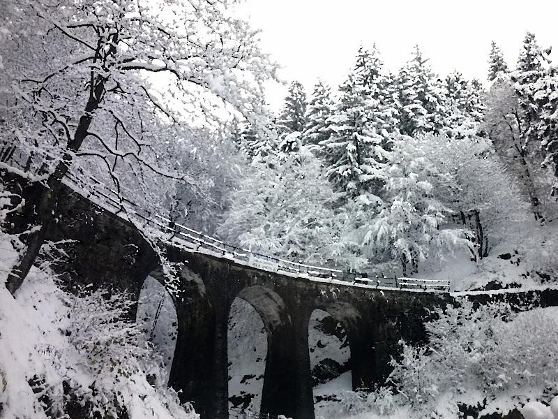 L'antica via del trenino del Santuario di Nicca
