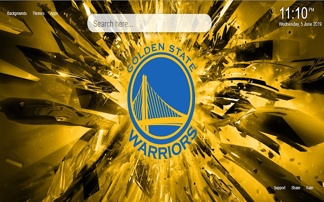 Golden State Warriors Wallpapers&Themes
