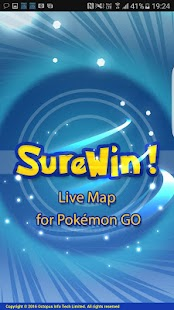 SureWin! Map for Pokémon GO- screenshot thumbnail