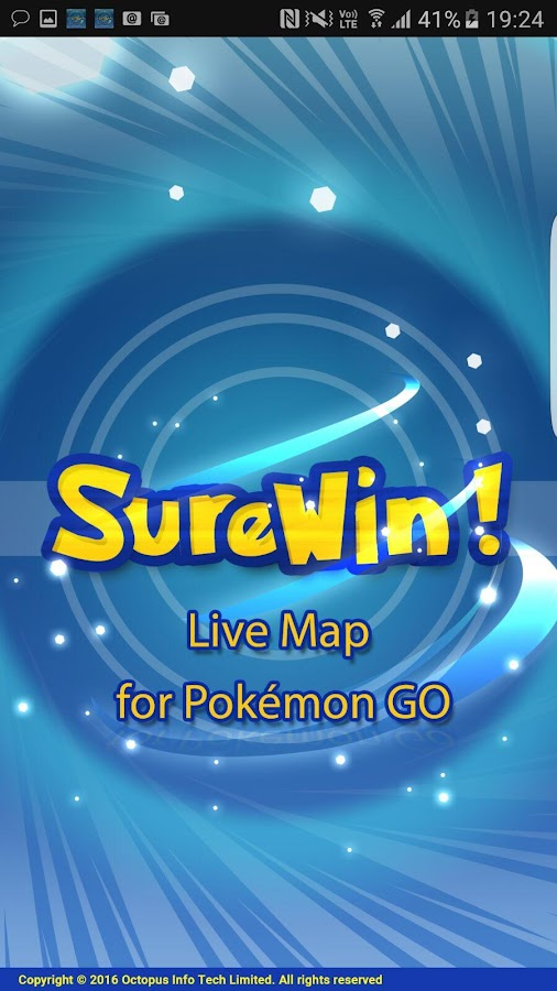 SureWin! Map for Pokémon GO- screenshot