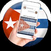 Cuba Flag Keyboard - Elegant Themes