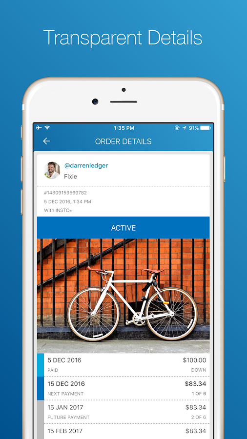 INSTO- screenshot